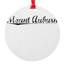 Mount Auburn, Vintage Ornament