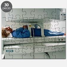 Open MRI scanner Puzzle