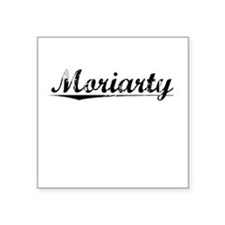 "Moriarty, Vintage Square Sticker 3"" x 3"""