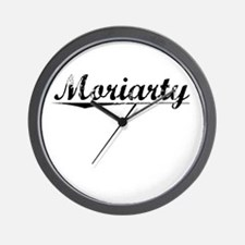 Moriarty, Vintage Wall Clock
