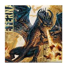 Eternal Edge-Dragon Fire Tile Coaster