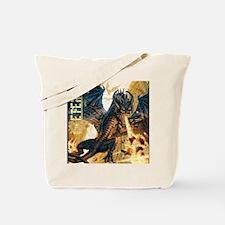 Eternal Edge-Dragon Fire Tote Bag