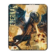 Eternal Edge-Dragon Fire Mousepad
