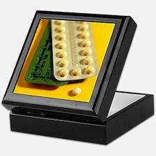 Oral contraception Keepsake Box