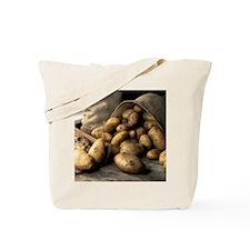 Organic potatoes Tote Bag