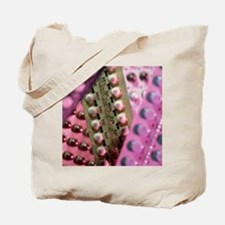 Oral contraceptive pills in packaging Tote Bag
