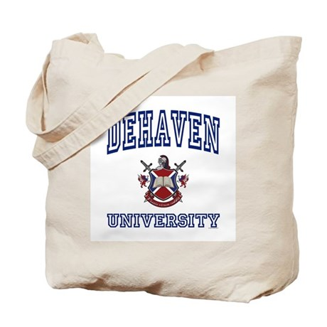 DEHAVEN University Tote Bag