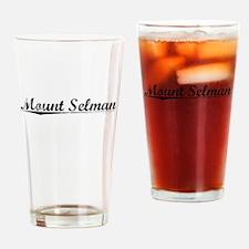 Mount Selman, Vintage Drinking Glass