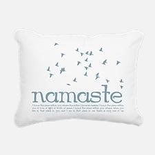 Namaste Rectangular Canvas Pillow