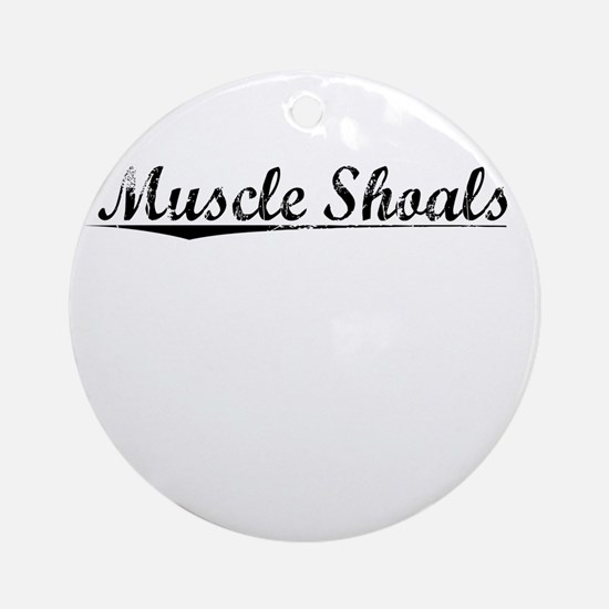 Muscle Shoals, Vintage Round Ornament
