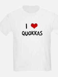 I Love Quokkas Kids T-Shirt