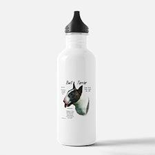 Bull Terrier (colored) Water Bottle