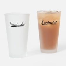 Nantucket, Vintage Drinking Glass