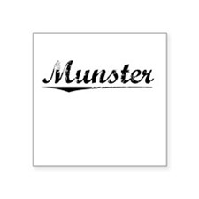 "Munster, Vintage Square Sticker 3"" x 3"""