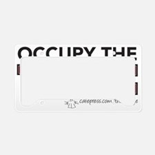 OCCUPY the Vadge License Plate Holder