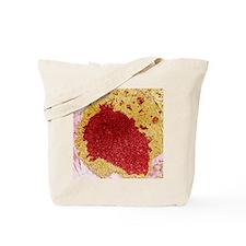 Papilloma virus particles, TEM Tote Bag