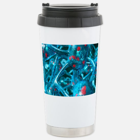 Parkinson's disease Stainless Steel Travel Mug