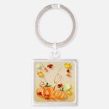 Pillow Wonderful Fall-Colorful Fal Square Keychain