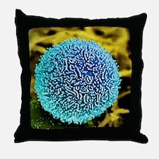 Pancreatic cancer cell, SEM Throw Pillow