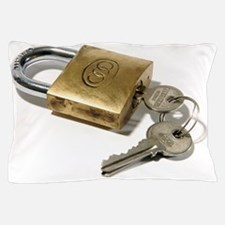 Padlock and keys Pillow Case