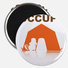 OCCUPY the Vadge (tent) Magnet