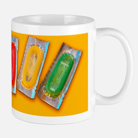 Packets of condoms Mug