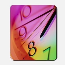 Part of a clock face of a wall-clock sho Mousepad