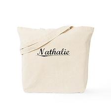 Nathalie, Vintage Tote Bag