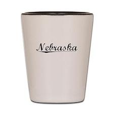 Nebraska, Vintage Shot Glass