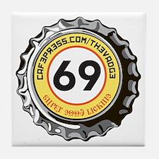 69 Super Good Licking Bottle Cap Tile Coaster
