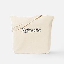 Nebraska, Vintage Tote Bag
