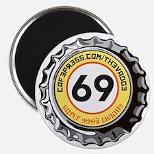 69 Super Good Licking Bottle Cap Magnet