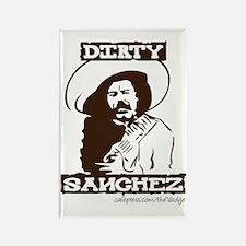Dirty Sanchez II Rectangle Magnet