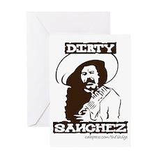 Dirty Sanchez II Greeting Card