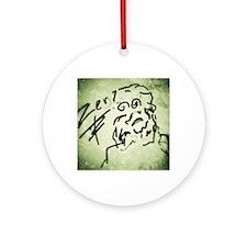 Zen Abstract Round Ornament