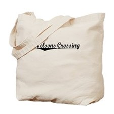 Nelsons Crossing, Vintage Tote Bag