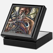 Patient on life support Keepsake Box