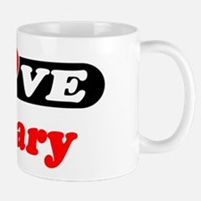 I Love Zackary Mug