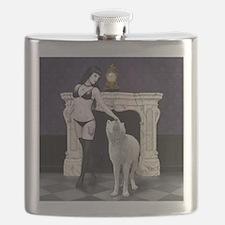 wolf girl nude Flask