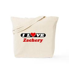I Love Zachery Tote Bag