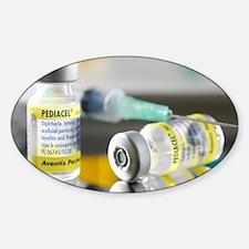 Pediacel vaccine Sticker (Oval)