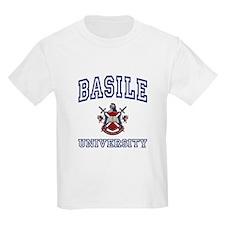 BASILE University Kids T-Shirt