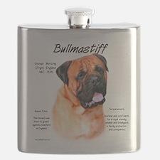 Bullmastiff (red) Flask