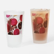 Petri dish bacterial cultures, pick Drinking Glass