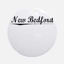 New Bedford, Vintage Round Ornament