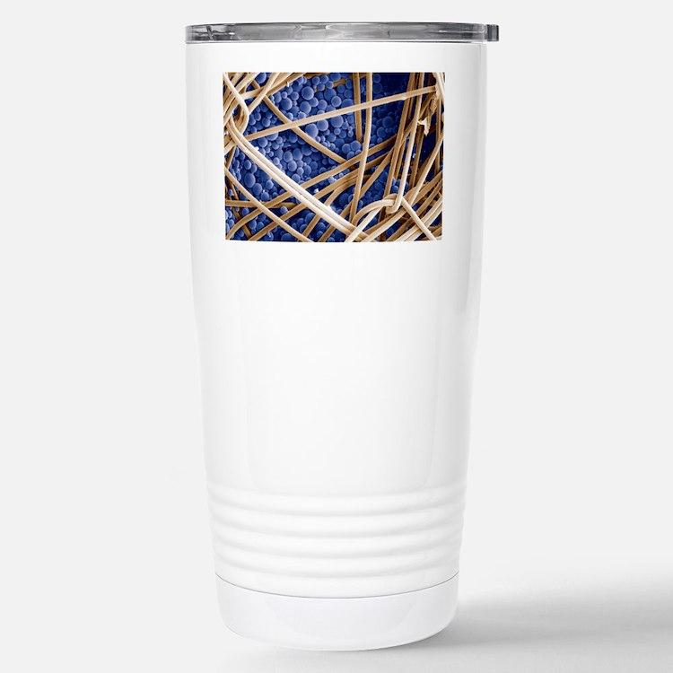 Phase change material, SEM Travel Mug