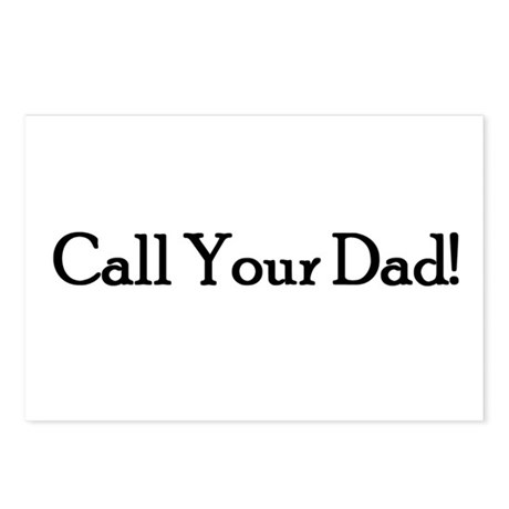 Call Your Dad! Postcards (Package of 8)