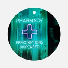 Pharmacy sign Round Ornament