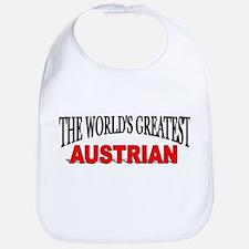 """The World's Greatest Austrian"" Bib"
