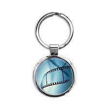 Photographic film Round Keychain